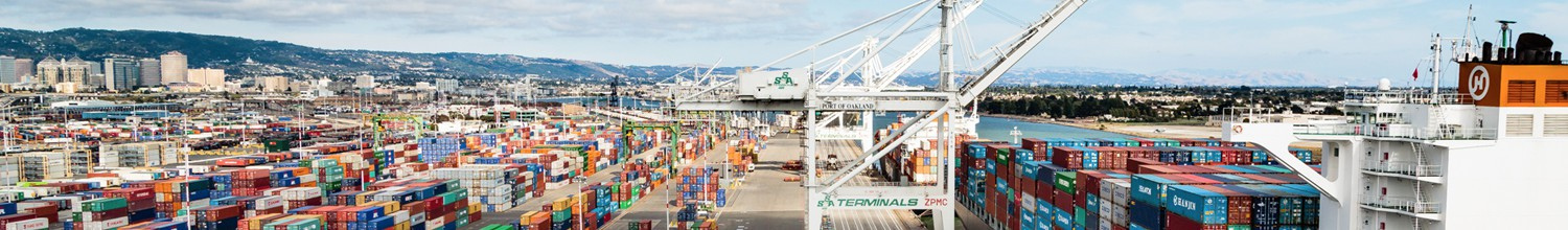 Image of Port of Oakland January import volume soars 75 percent