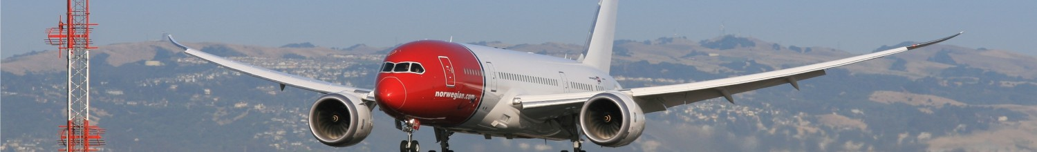 Image of Norwegian adds Boeing 787 nonstop service to Barcelona at OAK