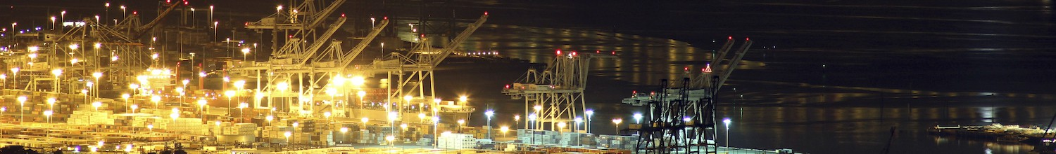 Image of Port of Oakland set all-time import cargo record in July