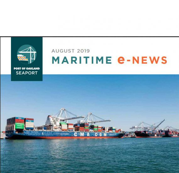 Image of Check out the August edition of our Maritime Newsletter