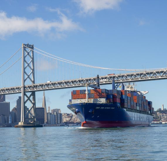 Image of Port welcomes CMA CGM direct Asia service