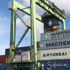 Thumbnail of Port of Oakland hybrid electric cranes deliver major emissions savings