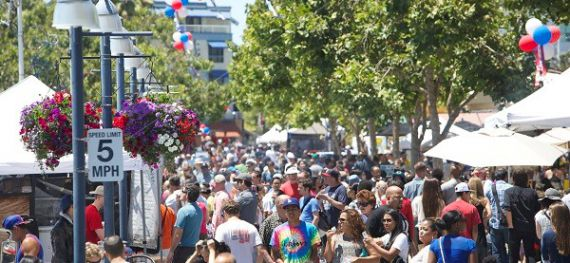Image of Fourth of July at Jack London Square