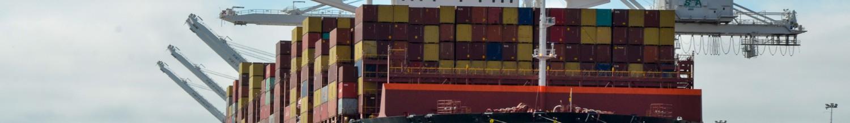 Image of Port of Oakland import cargo volumeupin November