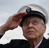 Image of WWII Navy Veteran gets his wish