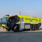 Thumbnail of Port of Oakland, Oakland Fire Department unveil new firefighting apparatuses