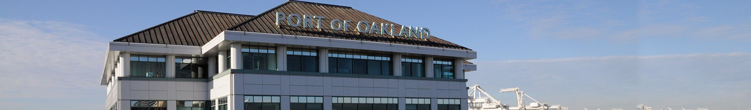 Image of Port of Oakland's Executive Directorplansfor Port growthand a healthy community