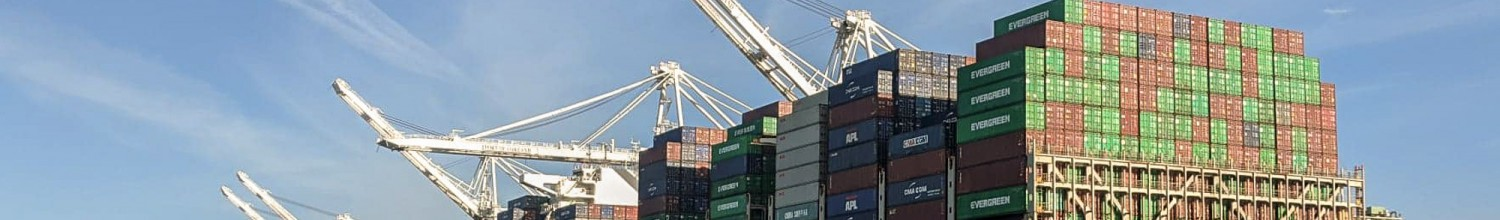 Image of Biggest container cranes ever on the way to Port of Oakland
