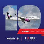 Thumbnail of Volaris celebrates 10 years at Oakland International Airport