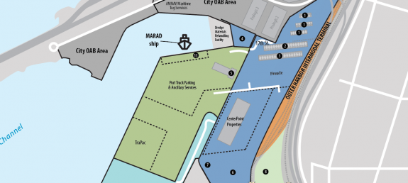 Image of Harbor Tour Map