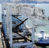 Image of Port Cranes To Boston