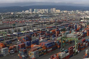 Port of Oakland containerized import volume surges in January