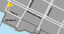 Port of Oakland Location Map