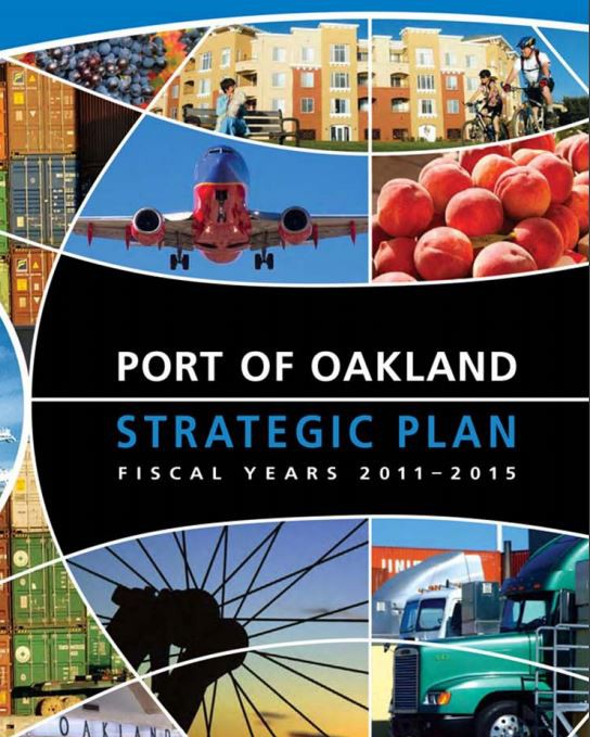 Image of Port of Oakland Strategic Plan Fiscal Year 2014 Update