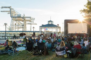 Waterfront Movies at Jack London Square