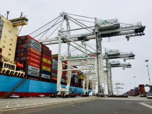 Done! Four cranes raised to soar 393 feet at Port of Oakland
